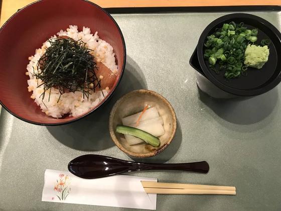 りゅうきゅう茶漬け ¥600