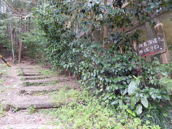 西へ続く旧東海道