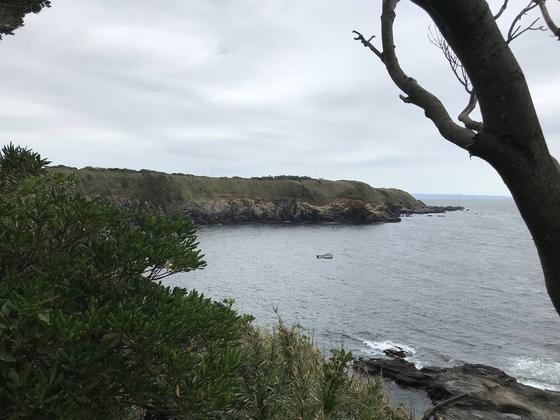 海鵜断崖、遠望