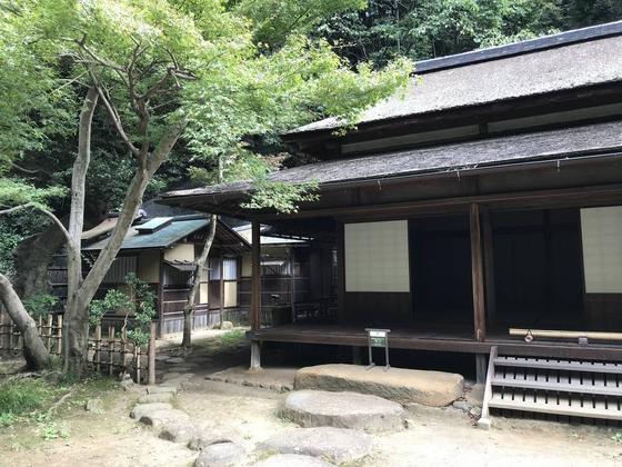 寺院から移築された建物