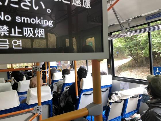 日光東照宮〜バス いろは坂