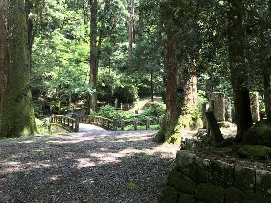 大雄山での宿泊