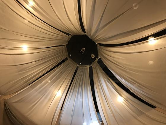 さっきの休憩室の天井