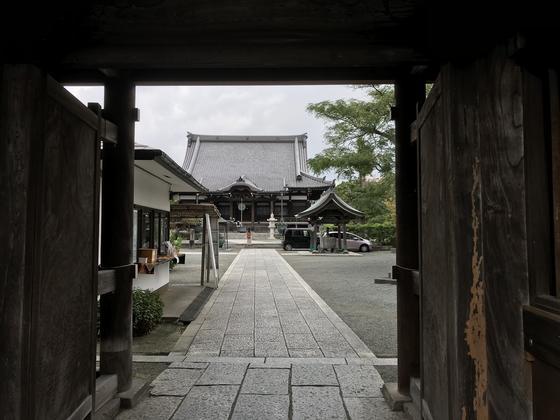 非常に整備されたお寺です。
