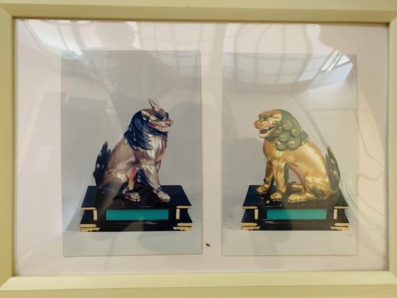 狛犬と獅子