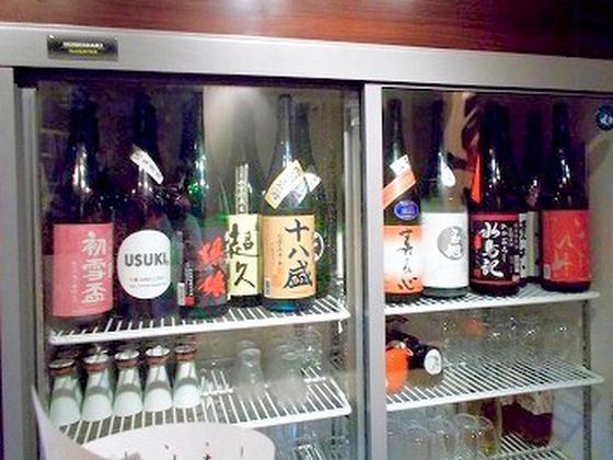 こだわりの日本酒 300円〜