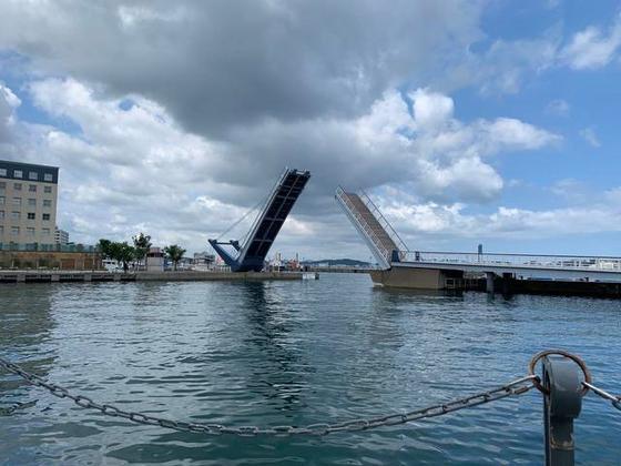 日本最大級の歩行者専門のはね橋