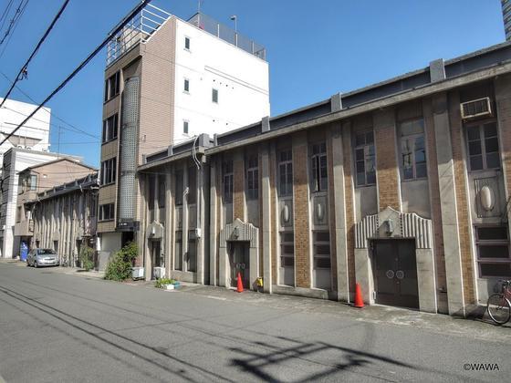 大阪川口居留地の看板建築
