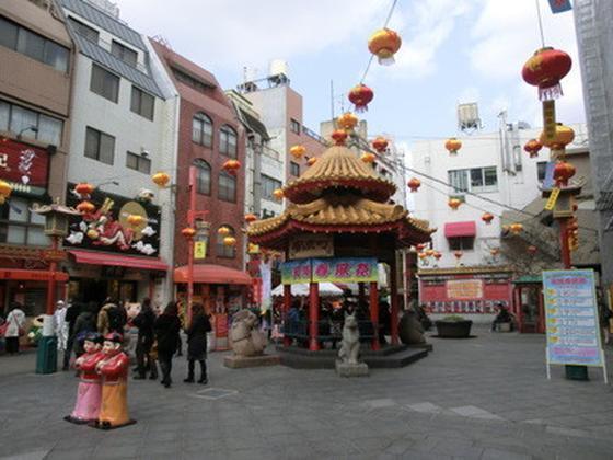 南京町の中心部