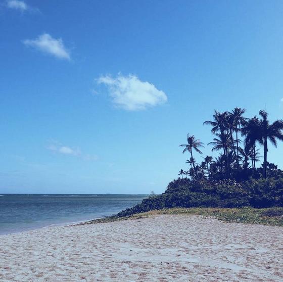 プライベートビーチ気分になれます
