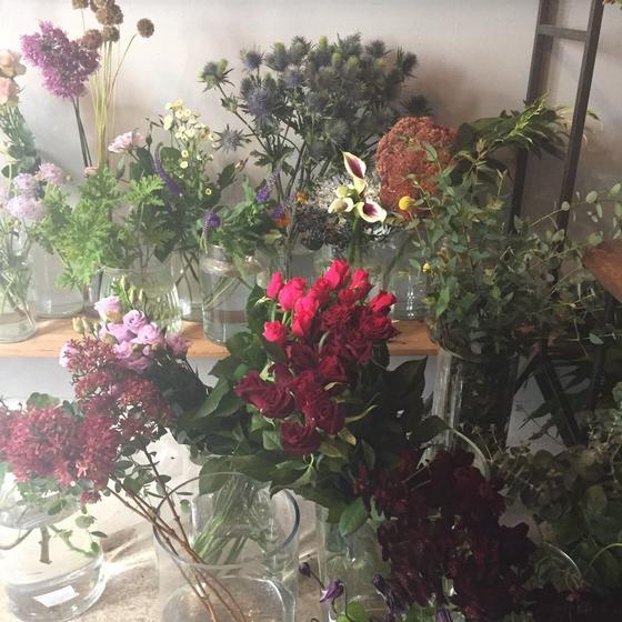 シックなお花たち