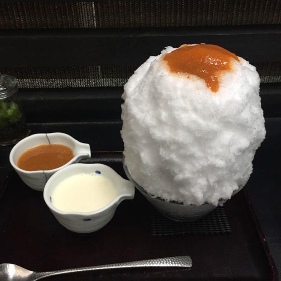 ⚫︎あんずと杏仁ミルク ¥1200