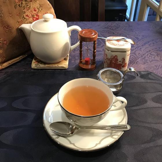 ポットサービスの紅茶