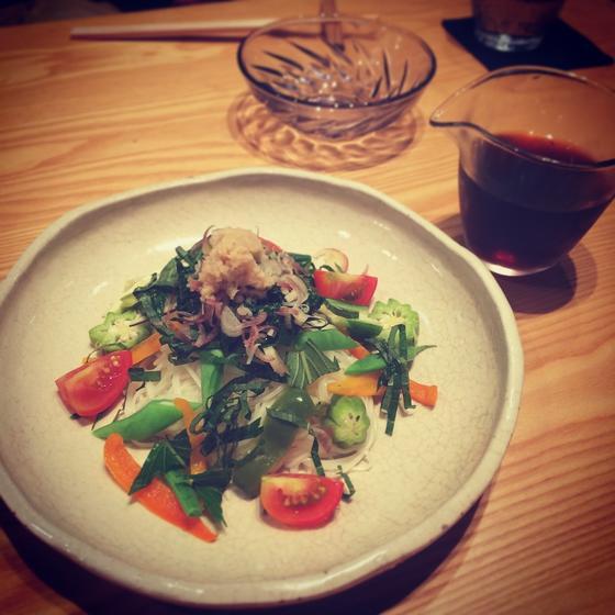 お野菜たっぷり三輪素麺