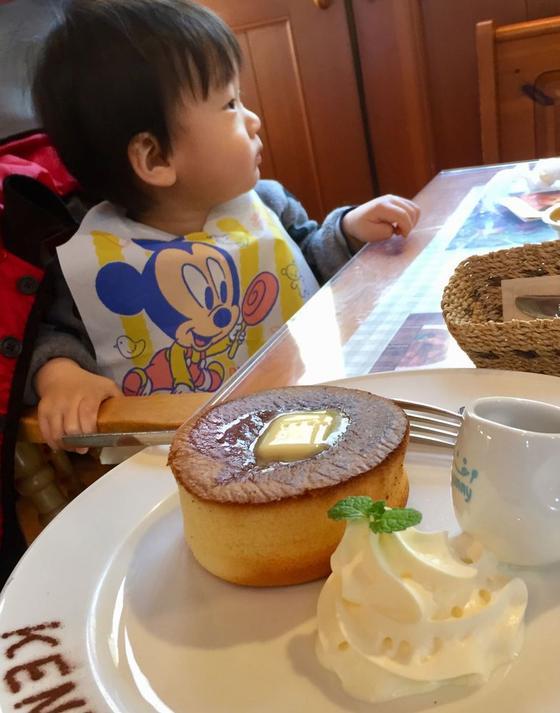 厚焼きふわふわパンケーキ♡