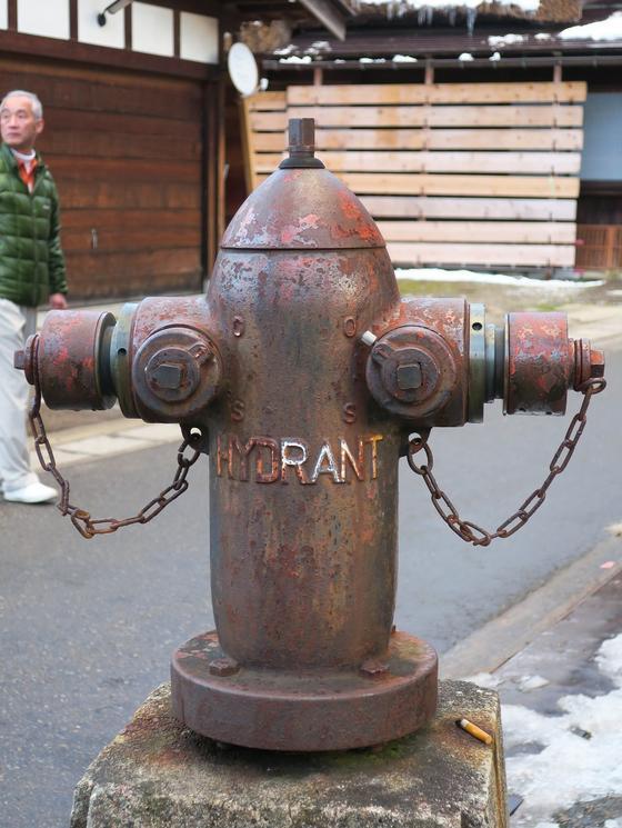消火栓かな。