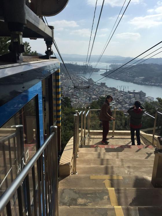 山頂駅からの眺望