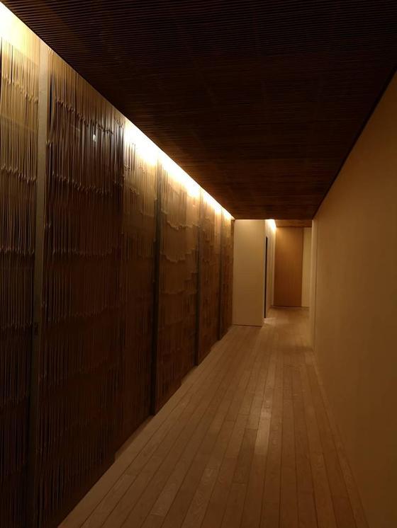 藤屋 お部屋までの廊下