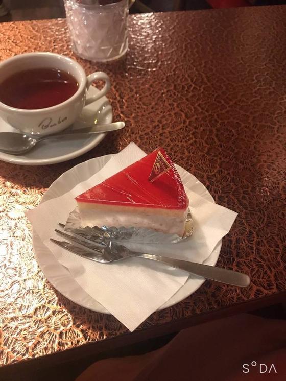 ケーキの名前を…
