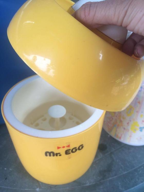 温泉卵調理器 Mr.EGG!!!