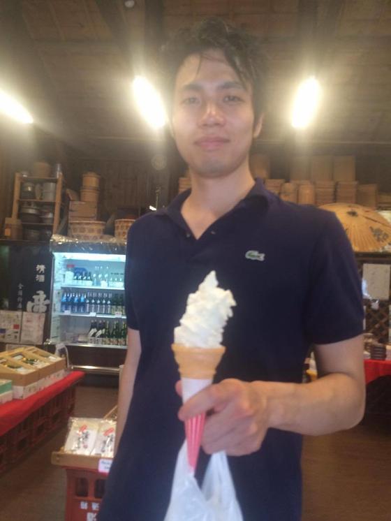 大吟醸ソフトクリーム
