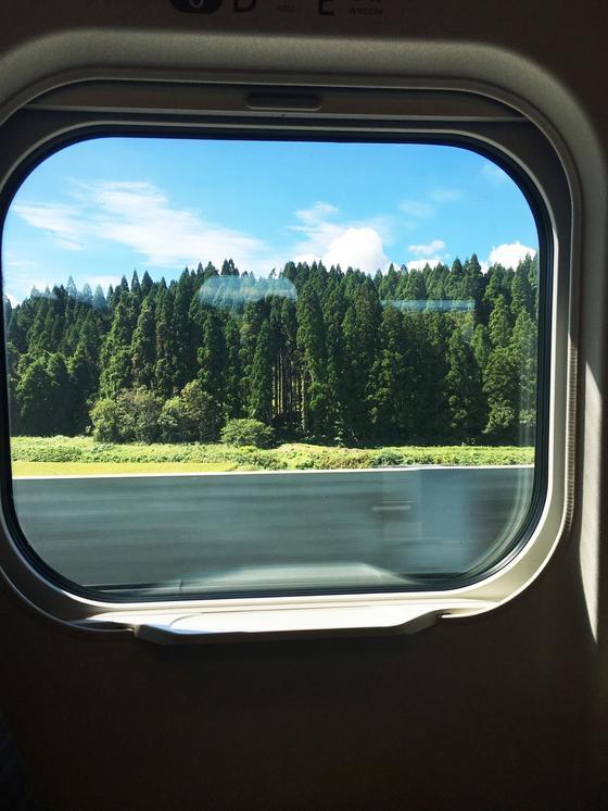 もうすぐ青森、津軽海峡