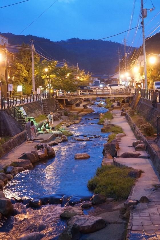 玉造温泉の夜
