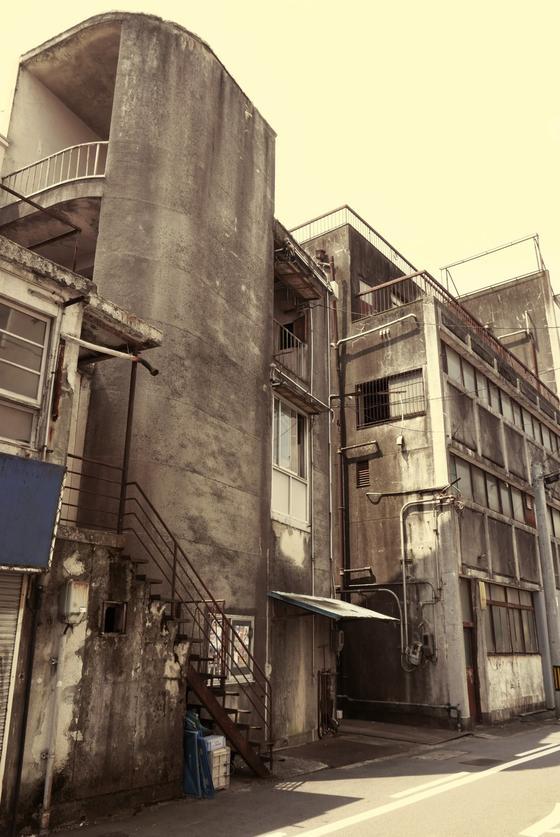 古い建物がいっぱい