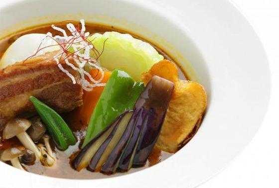 野菜たっぷりのスープカレー