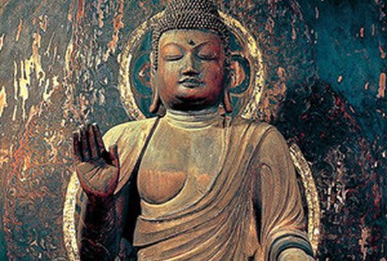 秘仏のご本尊「弥勒菩薩像」