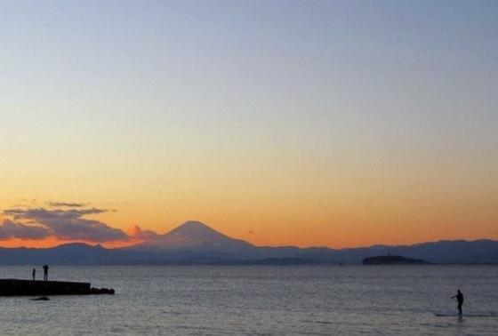 富士山も見える!