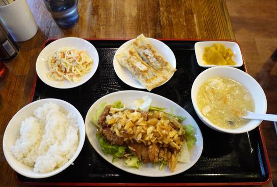 加納食堂の定食、美味しい!安い!