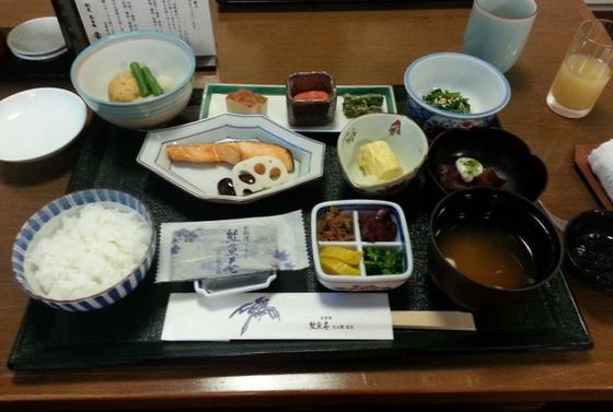 和食の朝食も有ります(*^^*)