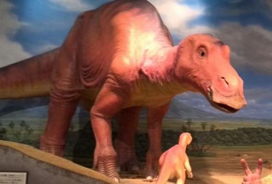 恐竜のシアター