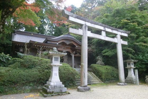 大楠公ゆかりの南木神社