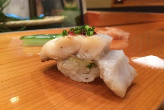 太刀魚 梅肉のせ