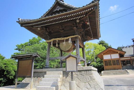 下関厳島神社の太鼓