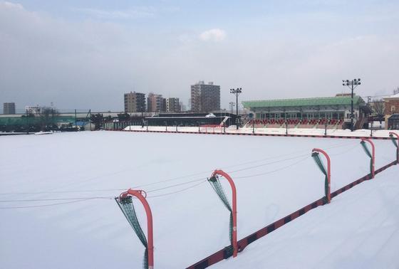 コンサドーレ札幌の練習グランド