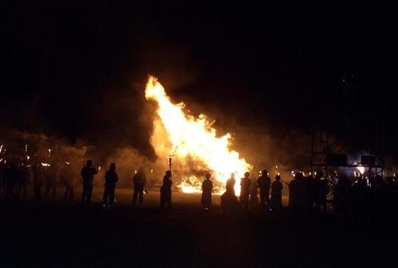 火祭り!!