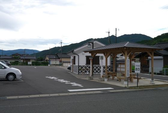 駐車場とシャトルバス