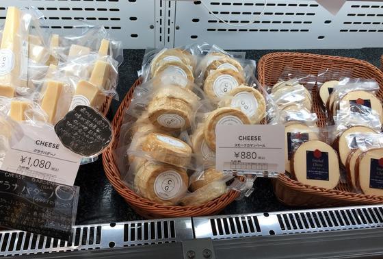 もちろんチーズも売っています。