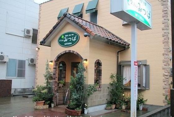 路地裏の可愛らしいレストラン