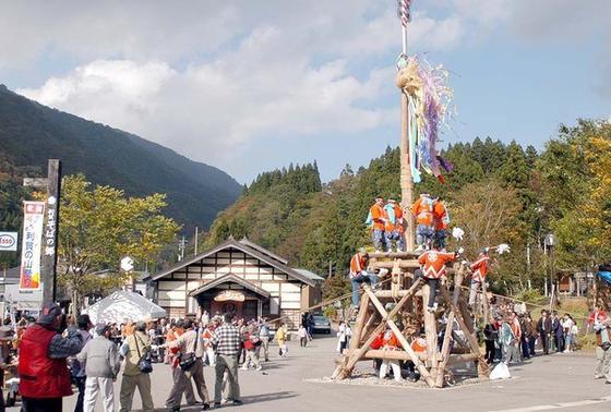 どーんと利賀の山祭り