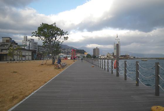 港近くでのんびりと〜