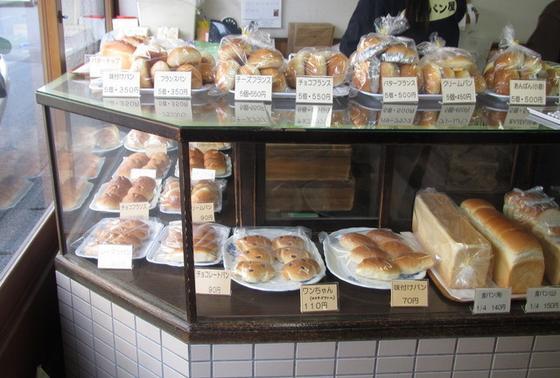 昔ながらのパン屋さん♪