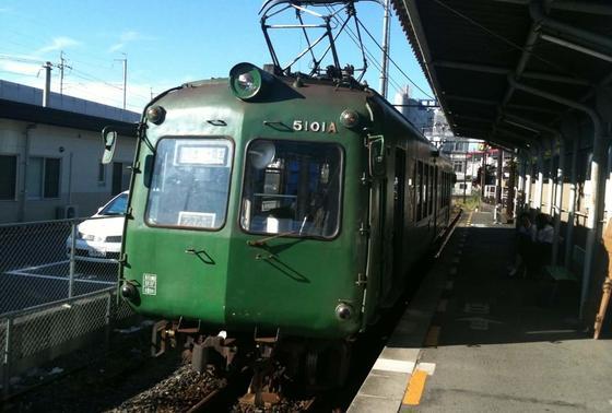 上熊本駅から乗ってね
