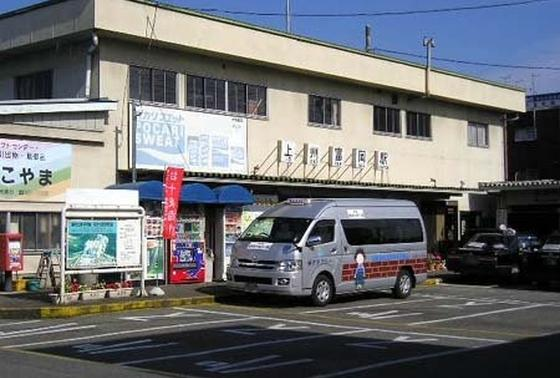 以前の駅舎