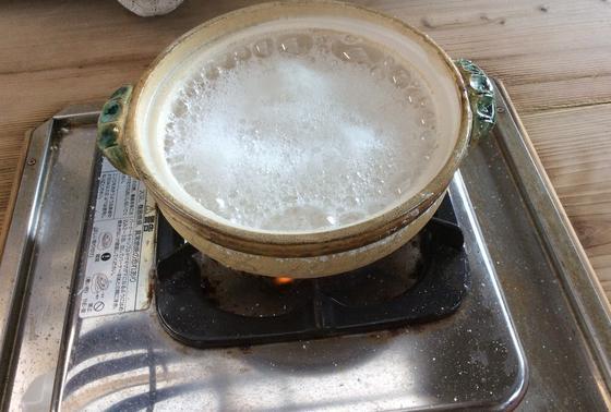 海洋科学館で塩づくり体験