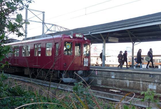 養老鉄道大垣駅の611F