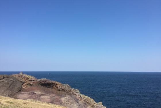 日本海を一望する景色は雄大